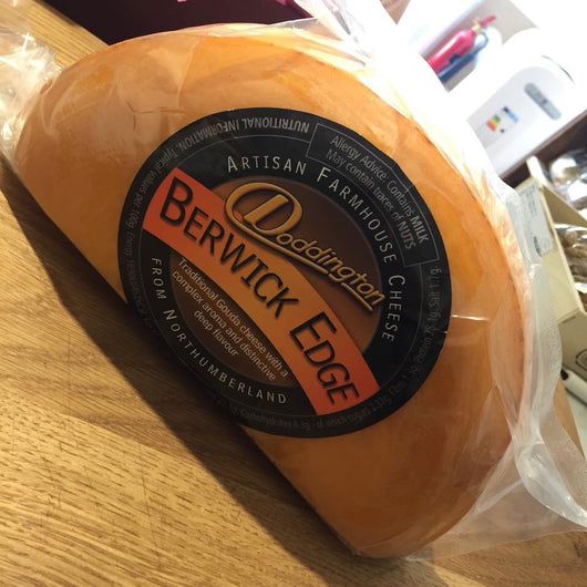 Berwick Edge | Raw British Gouda Style Cheese | Doddington Dairy
