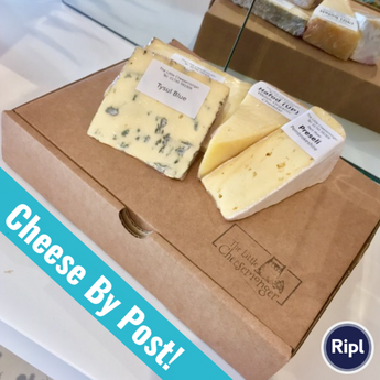 Cheese by Post | Welsh Cheese Selection | Father's Day Gift | Royal Mail | Welsh Cheese Hamper
