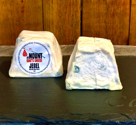 Jebel The Mount Goat's Cheese | Unpasturised Welsh Goat's Cheese 200g