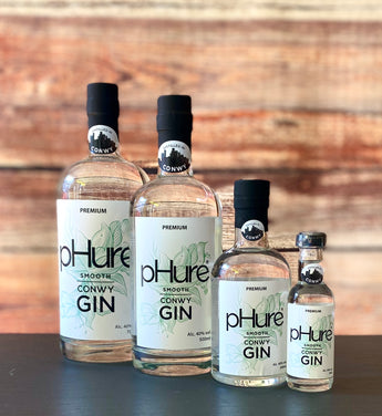pHure Gin Smooth Conwy Gin Welsh Gin by pHure Liquors