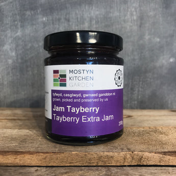 Tayberry Extra Jam | Mostyn Kitchen Garden