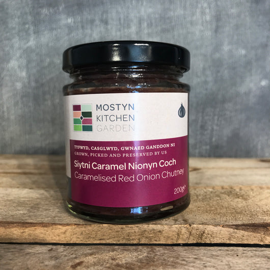 Caramelised Red Onion Chutney | Mostyn Kitchen Garden