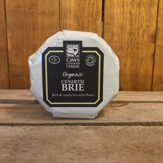 Organic Cenarth Brie | Welsh Brie | Reduced to Clear