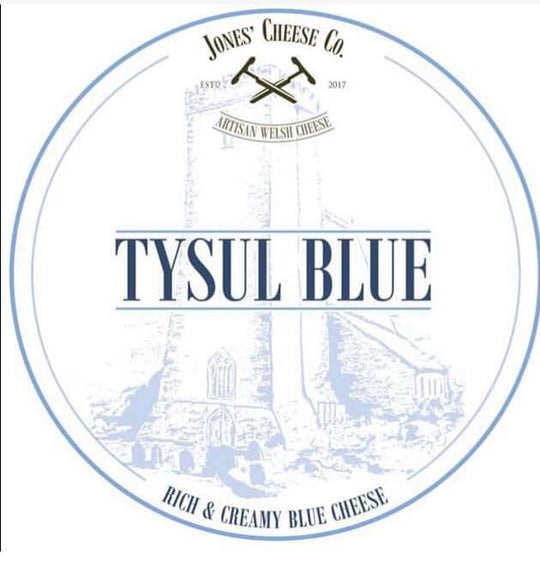 Tysul Blue | Welsh Cheese | Blue Cheese | Vegetarian Cheese