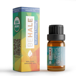 Organic Eucalyptus Radiata Essential Oil 10ml