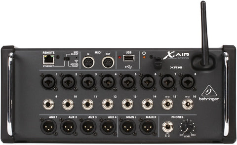 Behringer X Air XR16 Tablet-Controlled Digital Mixer Audio