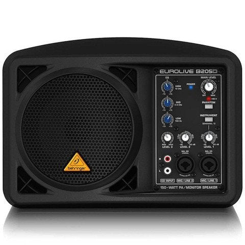 Audio - Behringer EUROLIVE B205D Powered PA/Monitor
