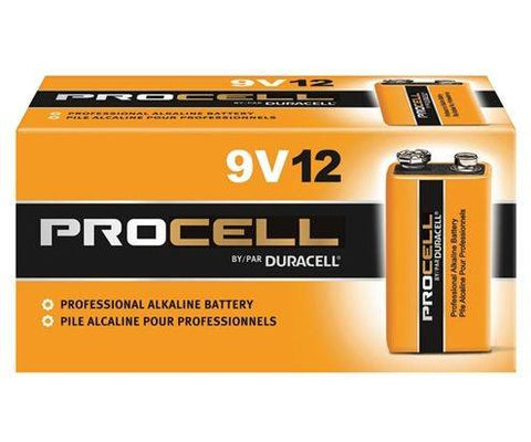 buy 9V duracell procell batteries online at wholesale prices, nine volt