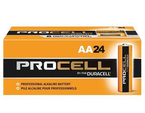 buy 24 pack of duracell procell batteries online at wholesale prices