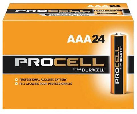 Buy 24 pack of AAA Duracell Procell Batteries for sale online