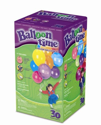 buy balloon kits with 30 balloons and helium online
