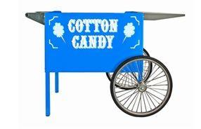 Concessions - Blue Deep Well Cotton Candy Cart