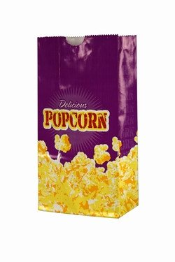 Concessions - Case Of 100, 1.5 Ounce Butter Popcorn Bags