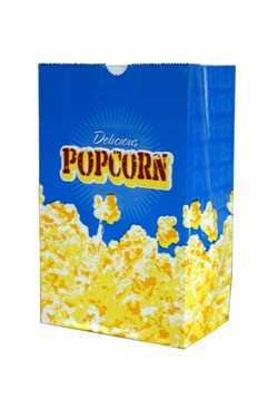 Concessions - Case Of 100, 3 Ounce Butter Popcorn Bags