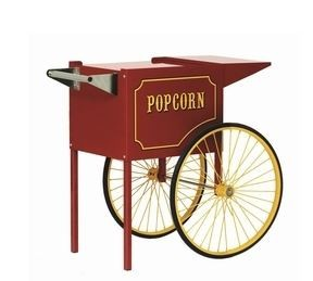 Concessions - Red Cart For 6oz And 8oz Popcorn Machines
