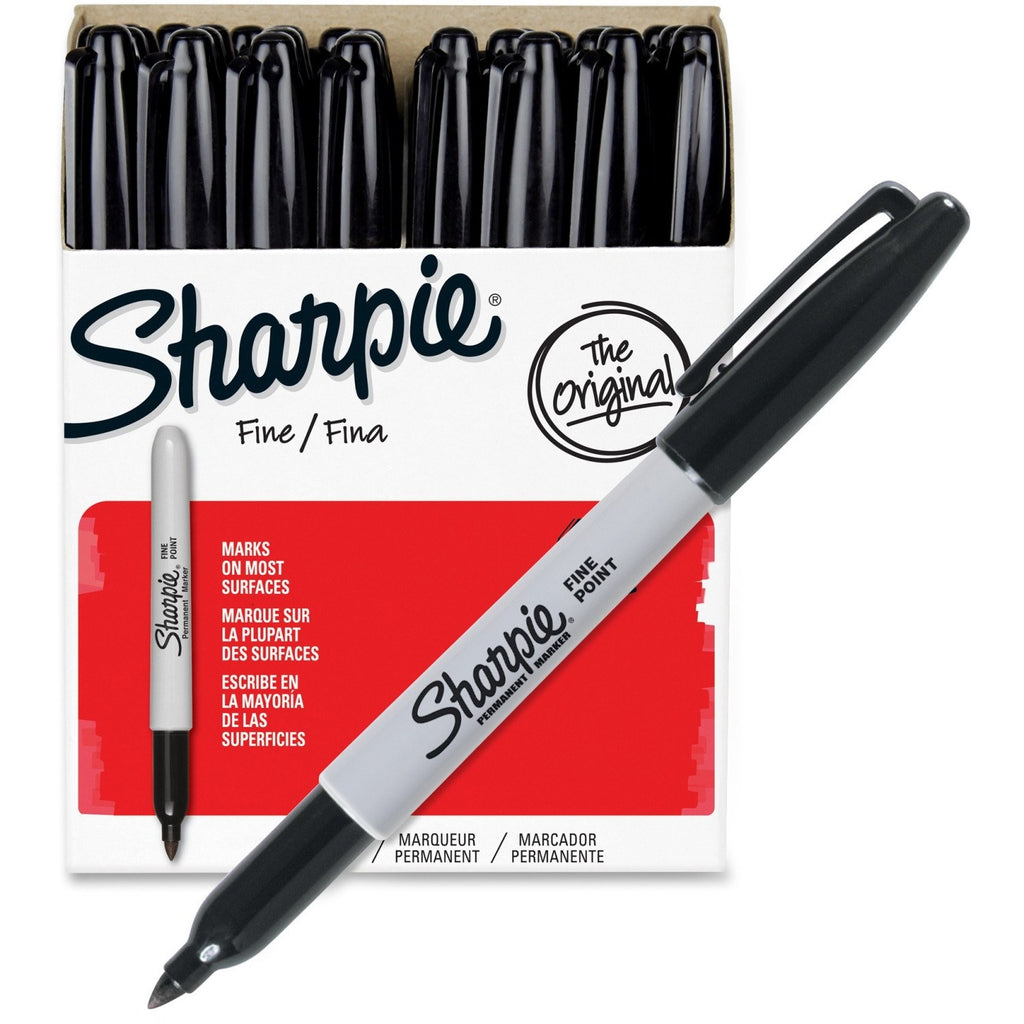 Office And Conference - Buy Package Of 36 Black Sharpie Markers For Sale Online