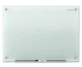 "Office And Conference - Frosted Dry Erase Glass Board - 24"" (2 Ft) Width X 18"" (1.5 Ft) Height"