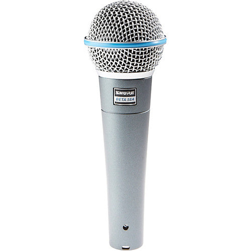 shop shure beta 58A wired microphones