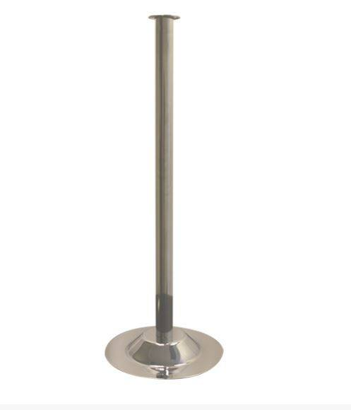 Stanchions & Ropes - Budget Chrome Stanchion Pole