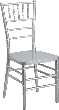 shop silver chiavari chairs for sale online at wholesale prices