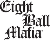 eight ball mafia logo pool cue cases - absolute cues
