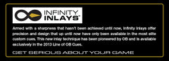 ob cues infinity inlays - absolute cues