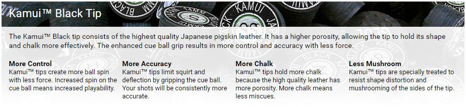 kamui specifications - absolute cues