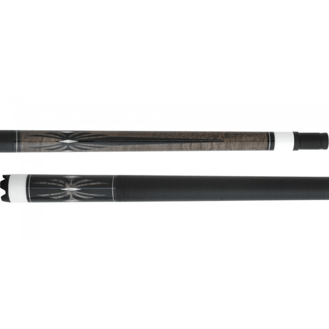 5280 Pool Cues - Pool Cue - APX02 - Tiger Redline Tip - Spider Design