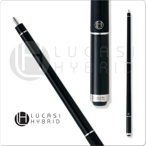 Lucasi Pool Cue - Lucasi Hybrid - LHE10 - Black Stain - G5 Grip - absolute cues
