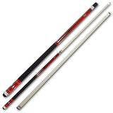 Cuetec Pool Cues - 13-99266 - Starlight Series - Red - Tiger Tip - absolute cues