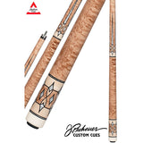Pechauer Pool Cues - JP Series - JP20 M - Natural Stain - absolute cues