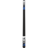 Eight Ball Mafia Cues - Pool Cues - EBM17 - Skull Octopus Blue Accents - absolute cues