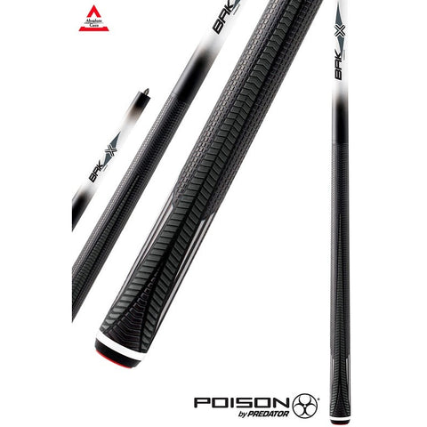 Poison Pool Cue - VX4-BRK-W - VX Series - 3 Piece Break/Jump Cues - absolute cues