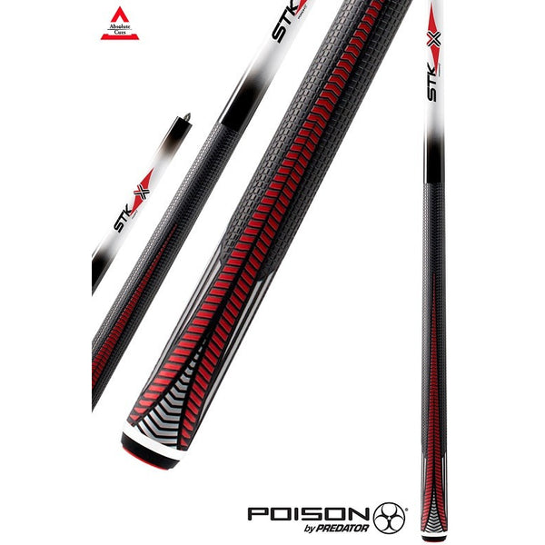 Poison Pool Cue - VX4-STK-W - VX Series - Venom Shaft - absolute cues