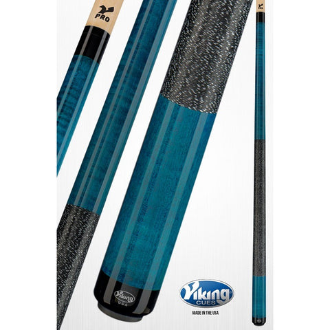 Viking Pool Cues - A243 - Curly Maple - V Pro Shaft - absolute cues