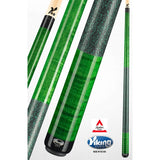 Viking Pool Cues - A246 - Curly Maple - V Pro Shaft - absolute cues