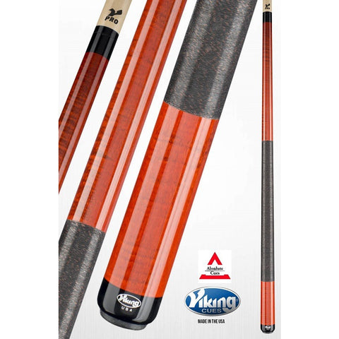 Viking Pool Cues - A252 - Sienna Curly Maple - V Pro Shaft - absolute cues