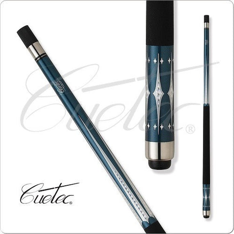 Cuetec Pool Cues 13 99264 Starlight Series Turquoise