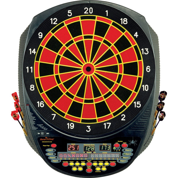 Arachnid Interactive 6000 30-E520H Electronic Dart Board - absolute cues