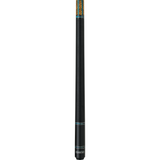 Athena Pool Cues - Woman Cue - ATH30 - Black Rings, Leopard Pattern - absolute cues