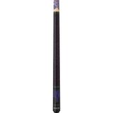 Athena Pool Cues - Woman Cue - ATH31 - Purple Tribal Key - absolute cues