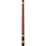 Griffin Pool Cue - GR31 - Black Stain Maple with Natural Red Stain - absolute cues