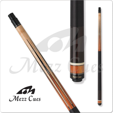 MEZZ Cues - ZZ32 - WX700 Shaft, United Joint - Tulipwood Points - absolute cues