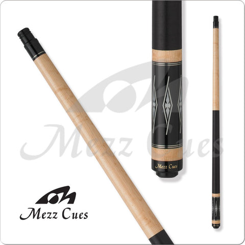 MEZZ Cues - ZZ31 - WX700 Shaft, United Joint - Silver Rings - absolute cues