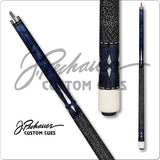 Pechauer Pool Cues - JP Series - JP06 M - Blue Stain Cue - absolute cues