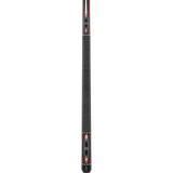 Griffin Pool Cue - GR45 - Black with Red and White Designs - ABSOLUTE CUES