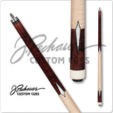 Pechauer Pool Cues - JP Series - JP07 M - Rosewood No Wrap - absolute cues