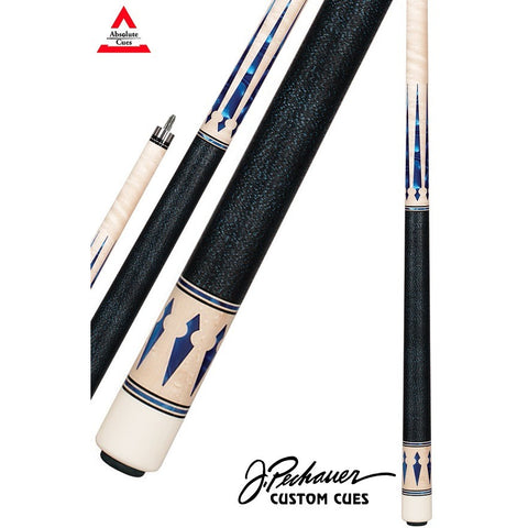 Pechauer Pool Cues - JP Series - JP10 M - Blue Pearls - absolute cues