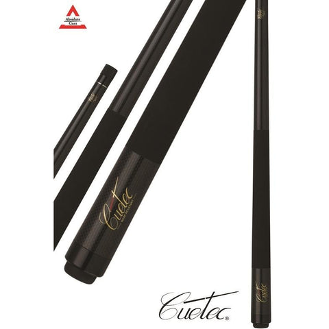 Cuetec Pool Cues - 13-99280 - Graphite Series - Black Graphite Cues