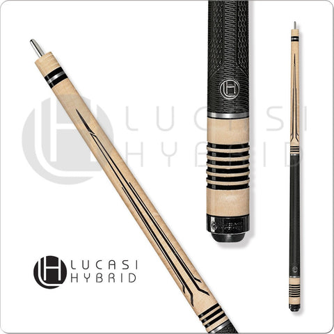 Lucasi Pool Cue - Lucasi Hybrid - LHL20 - Curly Maple - G5 Grip - absolute cues